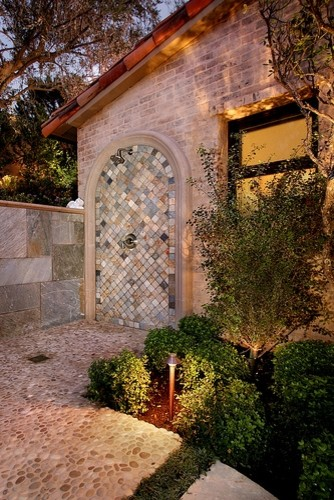 AMS Landscape Design Studios mediterranean-landscape