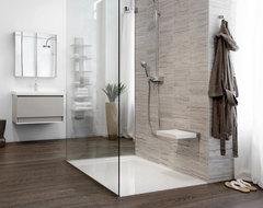 Glacier shower receptors modern-showers