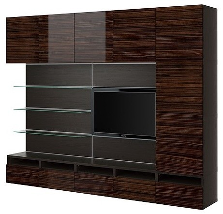 BEST/FRAMST TV/storage combination modern media storage