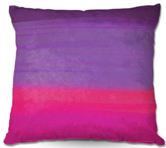 Pillow Woven Poplin from DiaNoche Designs by Rachel Burbees Skies the Limit 08 contemporary-decorative-pillows