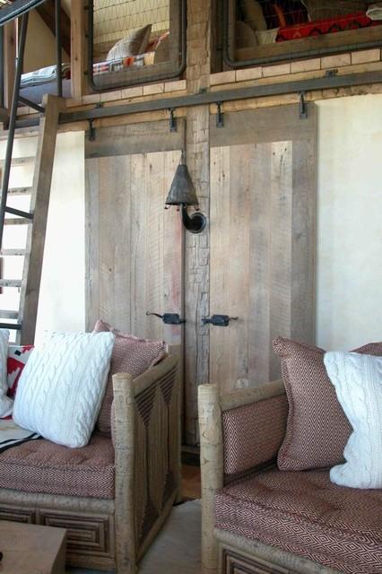 Antique Oak Barndoor interior-doors