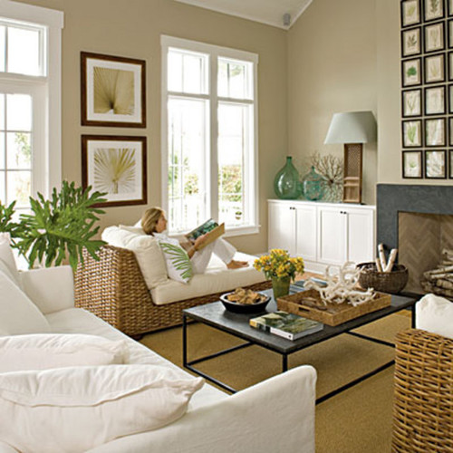 Coastal Living Decor Peach And Green Living Room Decor: Khaki Paint Color Recommendations