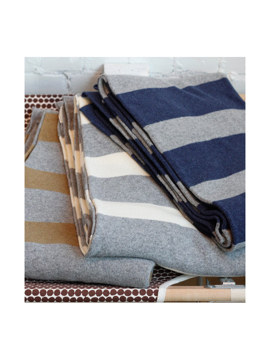 French Striped Blankets -