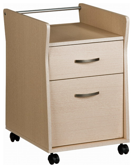 Techni Mobili Rolling File Cabinet in Ash modern-filing-cabinets