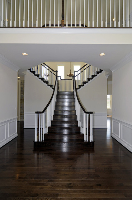 Douglas Homes traditional staircase