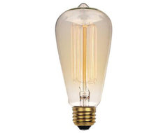 Westinghouse 04132 Vintage Carbon Filament Light Bulb S/6 midcentury-incandescent-bulbs