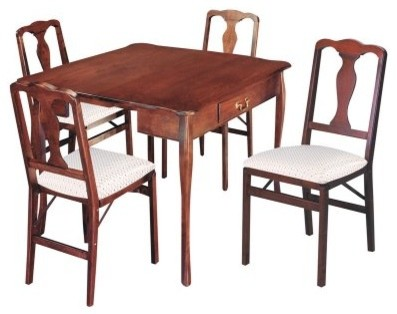 traditional expanding dining table cherry modern dining tables