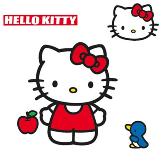 Stickers hello kitty geant for Bureau hello kitty