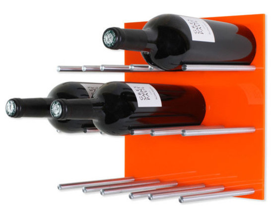 Vin de Garde Modern Wine Cellars Inc. - Wall Mounted Wine Rack | Vin de Garde XY Series - This stunning modular wall mounted wine rack allows you to customize your wine wall in anyway that you can imagine! The Vin de Garde XY 3X3 Kit holds up to 9 bottles of wine, and is backed by an ultra sleek-looking high gloss acrylic panel. With this system, you can mix and match the panels to create the perfect pattern and look for your home. What are you waiting for? Start building the wine collection of your dreams today.