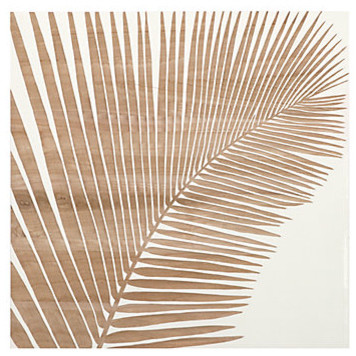 Palm Leaf Panel 1 Contemporary Prints And Posters By