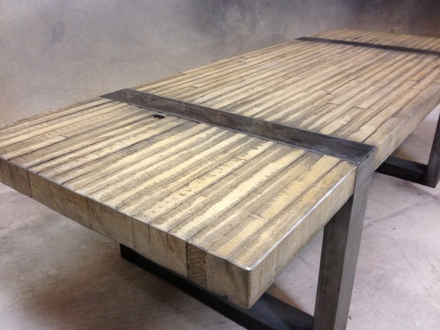 Rustic Modern Coffee Table Or Bench Modern Coffee Tables Other Metro By Arrowhead Design
