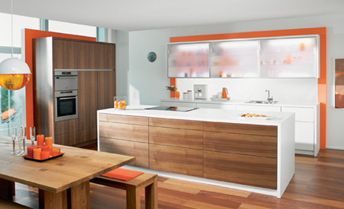 Blum Servo-Drive  kitchen cabinets