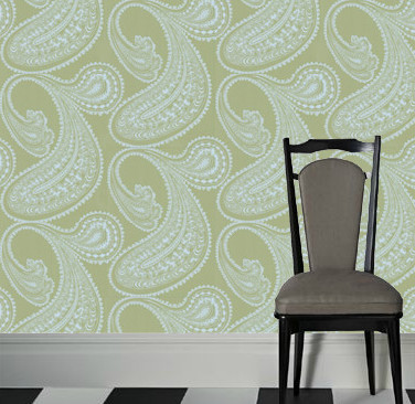 Rajapur Wallpaper by Cole and Son traditional-wallpaper