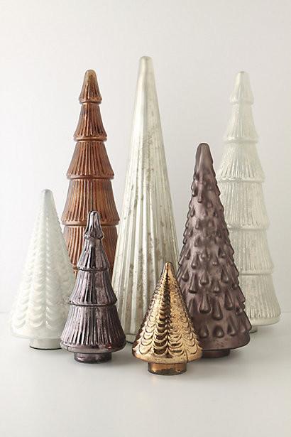 Mirrored Mirth Tree contemporary-holiday-decorations