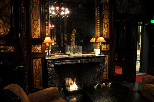 Fire Box, the Grand Palais Hotel, France eclectic