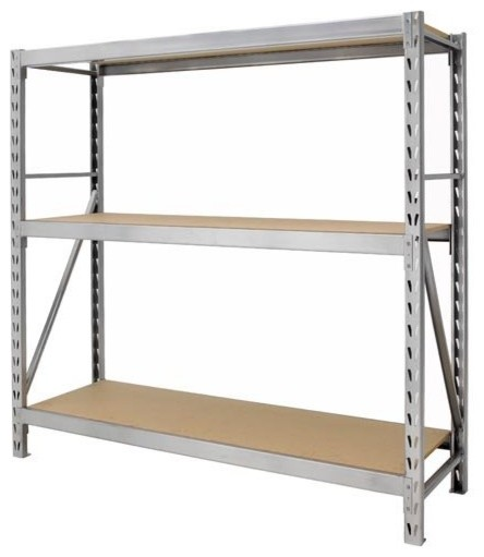 Gorilla Rack Large Commercial Storage P-Rack - Contemporary - Display And Wall Shelves - by ...