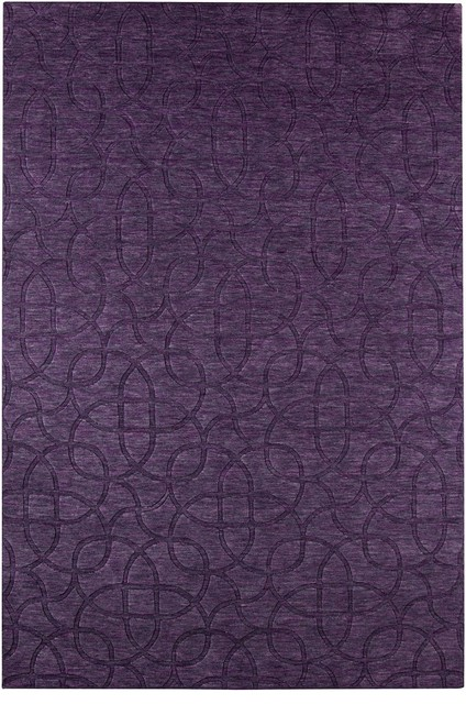 Contemporary uptown hallway runner 2 39 6 x8 39 runner plum for Contemporary runner rugs for hallway