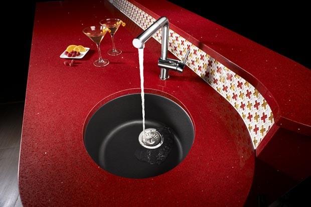 Cinder Blanco Sink : ... Sink, Silgranit II - Anthracite - Contemporary - Bar Sinks - by BLANCO