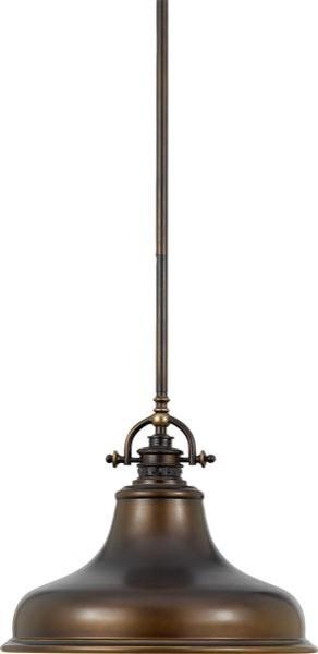 Quoizel Lighting ER1814PN 1 Light Pendant Emery Collection contemporary-pendant-lighting