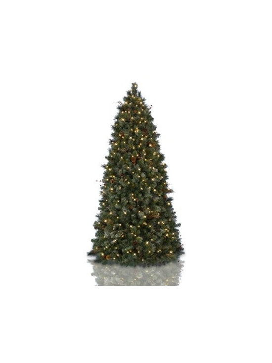 Balsam Hill Frosted Woodland Pine Pull-Up Artificial Christmas Tree - THE BEAUTY AND CONVENIENCE OF BALSAM HILL'S FROSTED WOODLAND PINE PULL-UP TREE |