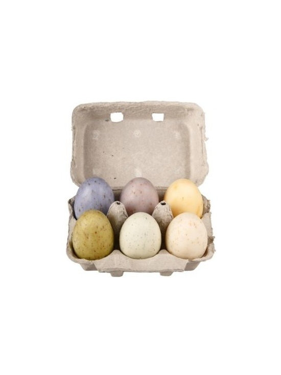 French Soap Eggs. Set of 6 -