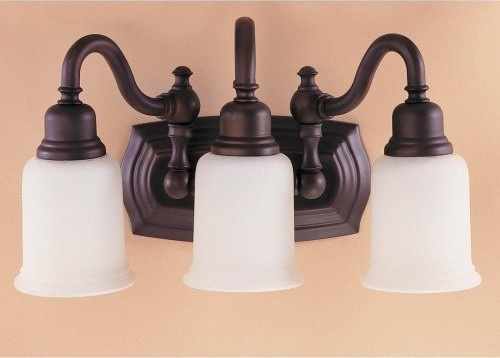 The Murray Feiss Canterbury Bathroom Sconce - 18.5W-in. Oil Rubbed