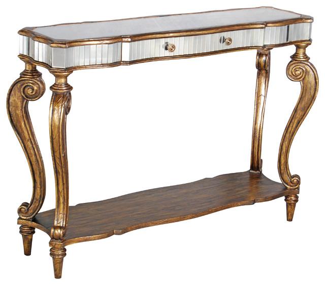 Voranado cabriole console table victorian console