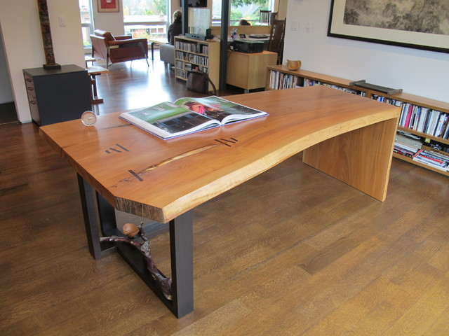 Friend Madrona Office Desk Commissioned Work Modern Furniture Seattle