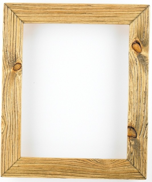 Weathered Picture Frame In Driftwood Home Decor
