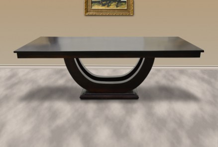 Union Pedestal Dining Table modern-dining-tables