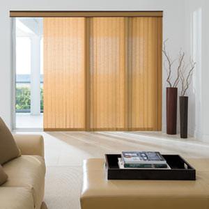 Levolor Fabric Vertical Blinds: Linen contemporary-vertical-blinds