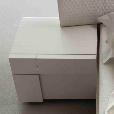 Domino Left 1 Drawer Nightstand modern-nightstands-and-bedside-tables