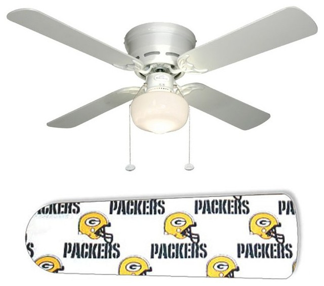 Green Bay Packers 42 Quot Ceiling Fan And Lamp Eclectic
