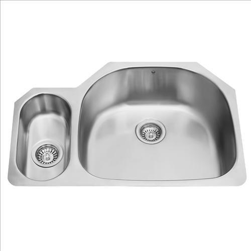 VIGO VG3321R Under mount Double Bowl Sink contemporary-kitchen-sinks