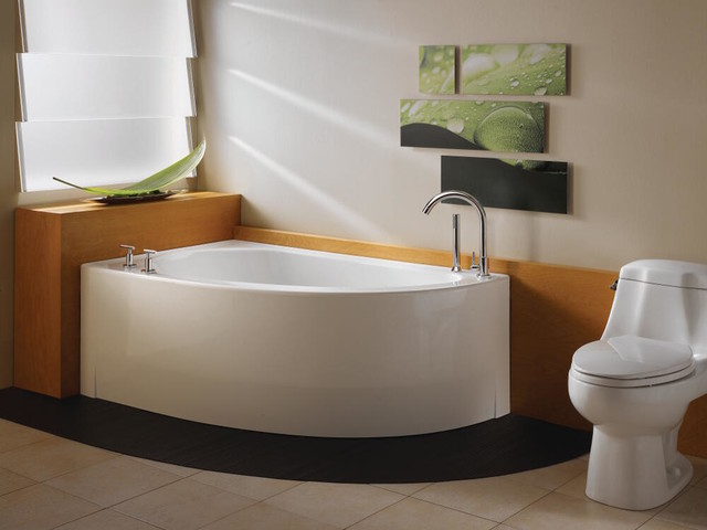 deep soaking tub contemporary bathtubs other metro by zen