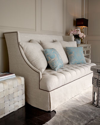 Haute House Uptown Tufted Sofa traditional-sofas