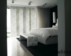 Coulisse Designs modern-window-treatments