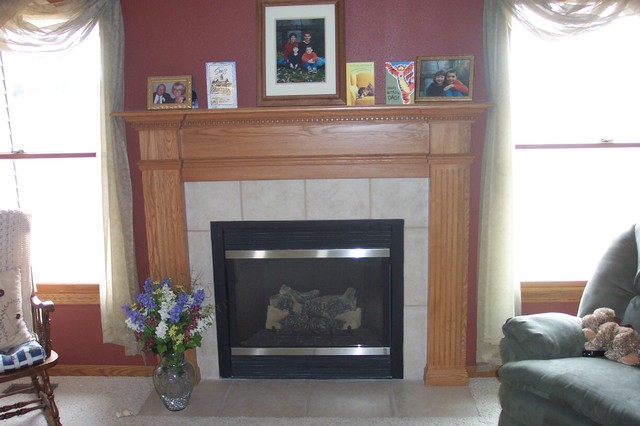 Fireplace surrounds traditional-living-room
