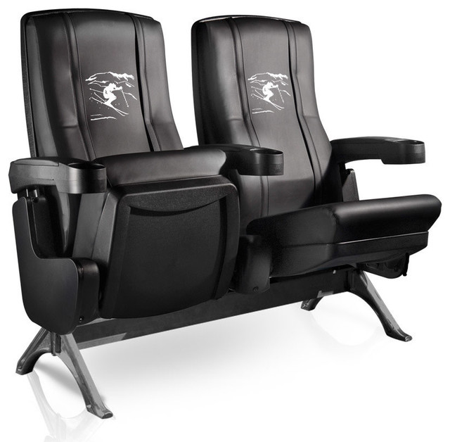 Ski Freestyle Row One VIP Theater Seat - Quad traditional-chairs