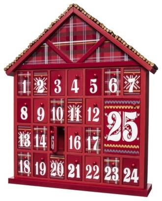 Fair Isle Advent Calendar : Target traditional-christmas-decorations