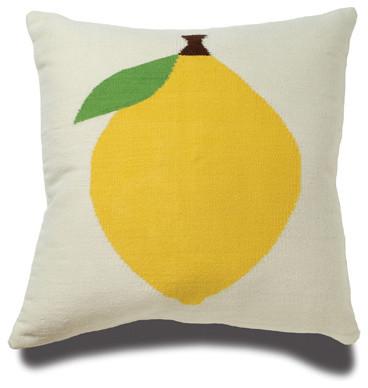 Lemon Pillow eclectic-decorative-pillows