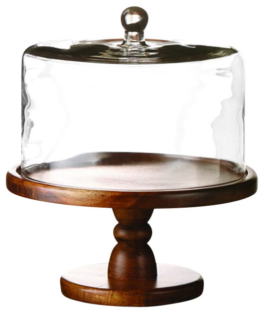 Small Cake Stand With Dome