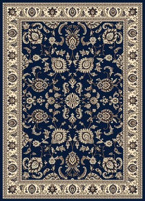 "Traditional Alba 9'10""x12'10"" rectangle denim Area Rug traditional-area-rugs"