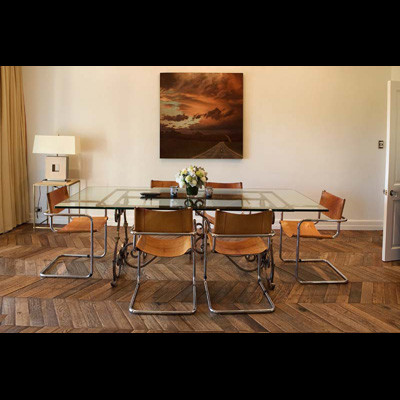 OLD PARQUET FLOOR - STYLE LIVING - ANTIQUE FLOOR - OLD DESIGN - LUXURYSTYLE.ES contemporary