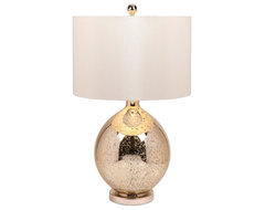 Avignon Mercury Glass Table Lamp contemporary-table-lamps