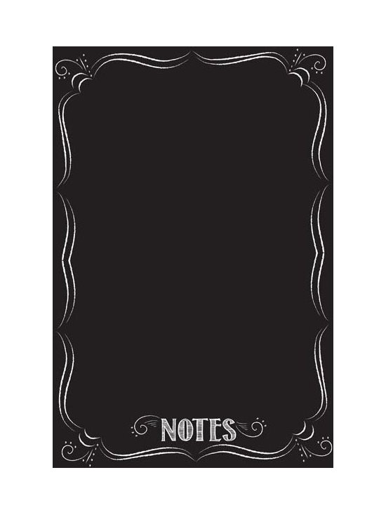 """Brewster Home Fashions - Bistro Notes Giant Novelty Dry Erase Decal - With a vintage chic look inspired by a Parisian bistro this dry-erase message board is an inviting space to keep track of your ideas make lists and leave lots of notes! The Black Bistro decal is a stylish decor accent with fun and functional dry-erase capabilities. The Dry Erase Bistro Board is 26"""" x 39"""" and comes with a white dry erase marker."""