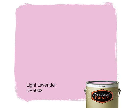 Dunn-Edwards Paints Light Lavender DE5002 -