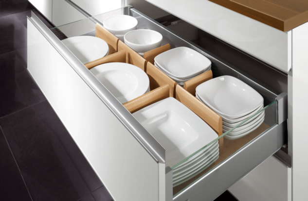 Kitchen Organization Boston Spaces Contemporary Kitchen Drawer