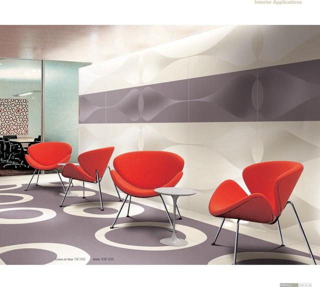 Large Format 4.8mm Thin Porcelain Tiles modern-floor-tiles