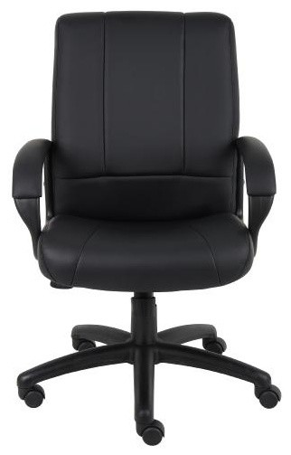 Boss Caressoft Executive Mid Back Office Chair contemporary-office-chairs